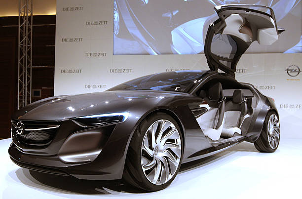 The New Opel Monza Concept Is Presented At The Iaa Auto Show In