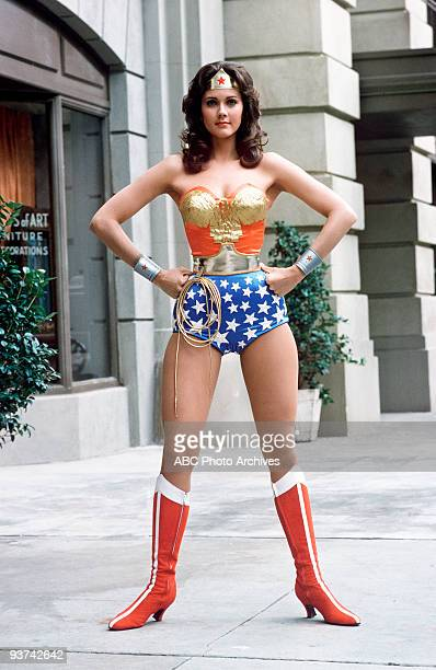 "The New Original Wonder Woman"" - pilot - Season One - 11/7/75, Based on Charles Moulton's comic-book superheroine, the series took place during World..."
