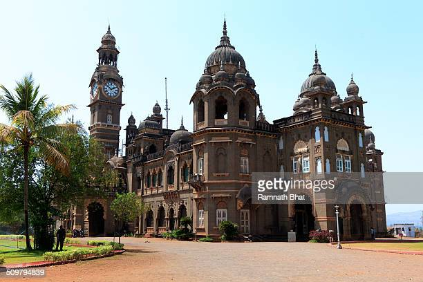 The New Palace Kolhapur is 19th century building constructed in black stone It is the residence of Shreemant Shahu Maharaj It is one the trourist...