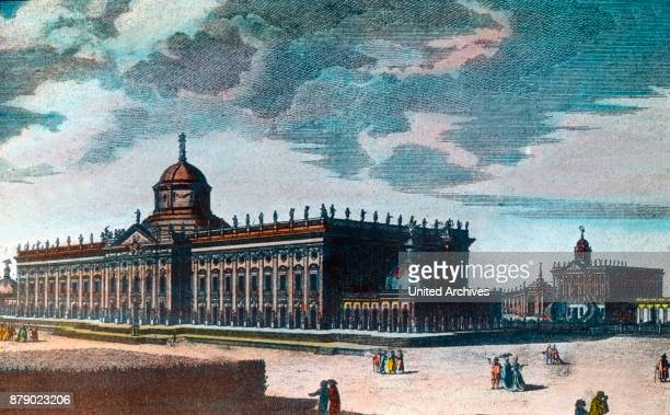 The new palace on the western side of the Sanssouci Palace in Potsdam near Berlin