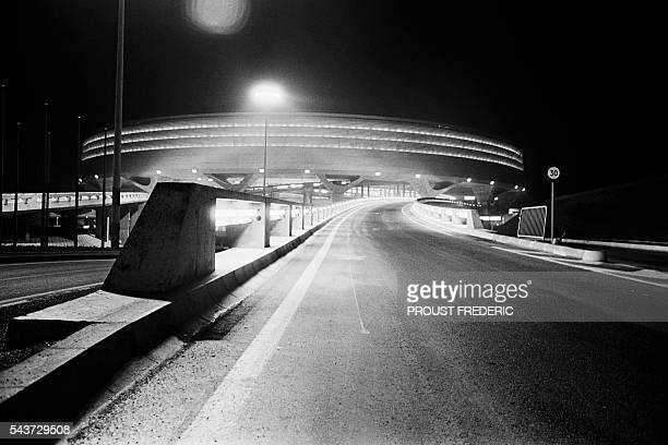 The new ParisCharles de Gaulle Airport in Roissy began service March 8 1974 | Location Roissy France