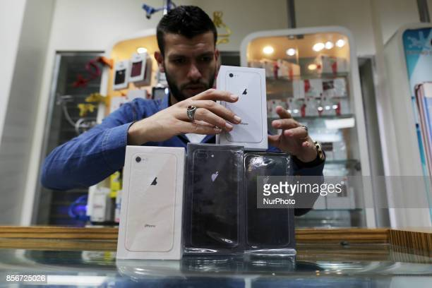 The new phone from the Apple iPhone 8 arrived today and the price of the phone is about $ 1500 It is sold in a mobile phone shop and is very popular...
