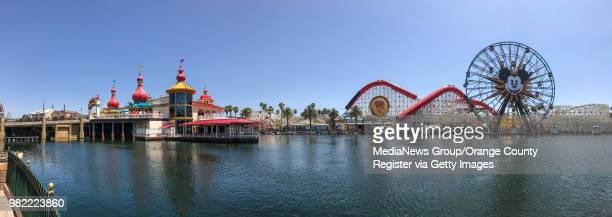 The new Pixar Pier at Disney California Adventure Park in Anaheim CA on Thursday June 21 2018