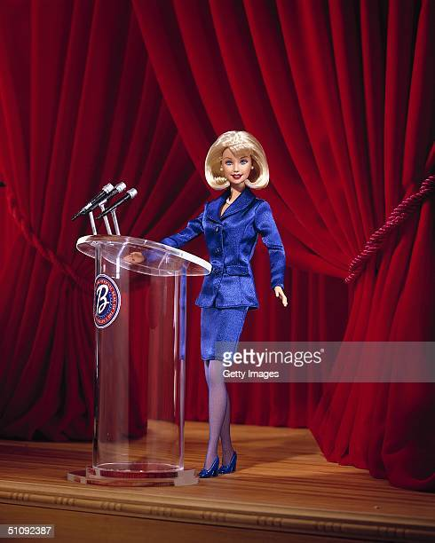 The New President 2000 Barbie Doll's Platform Developed By Mattel And Toys 'R' Us This New Doll Hits The Campaign Trail Exclusively At Toys 'R' Us...