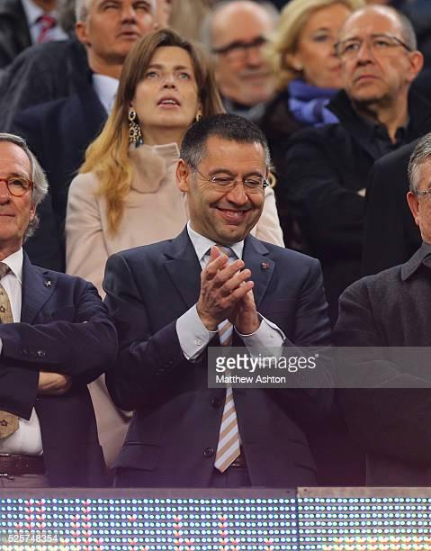 The new president of FC Barcelona Josep Maria Bartomeu