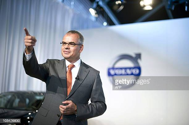 The new President of Volvo the Swedish auto maker which was recently acquired by China's Zheijang Geely Holding Group CO Stefan Jacoby speaks to the...