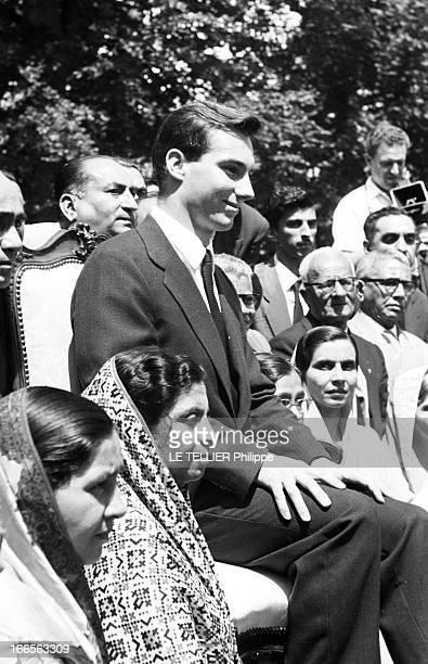 The New Prince Karim Aga Khan Iv In Switzerland After The Death Of The Aga Khan Iii En Suisse à Genève le 15 juillet 1957 suite au décès de son...