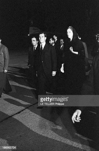 The New Prince Karim Aga Khan Iv In Switzerland After The Death Of The Aga Khan Iii En Suisse à Genève le 18 juillet 1957 suite au décès de son...