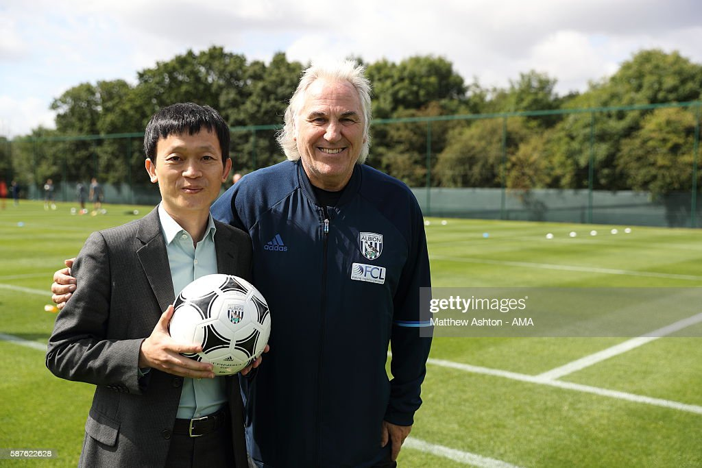 New Chinese Owners Visit West Bromwich Albion