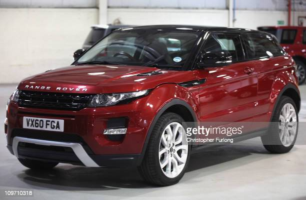The New Range Rover Evoque At Halewood Embly Plant On March 2 2017 In
