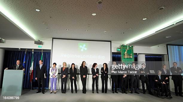 The new Regional Government team Roberto Maroni Mario Mantovani Valentina Aprea Viviana Beccalossi Simona Bordonali Paola Bulbarelli Maria Cristina...