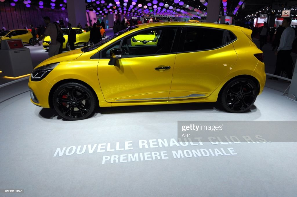 FRANCE-AUTO-SHOW-RENAULT : News Photo