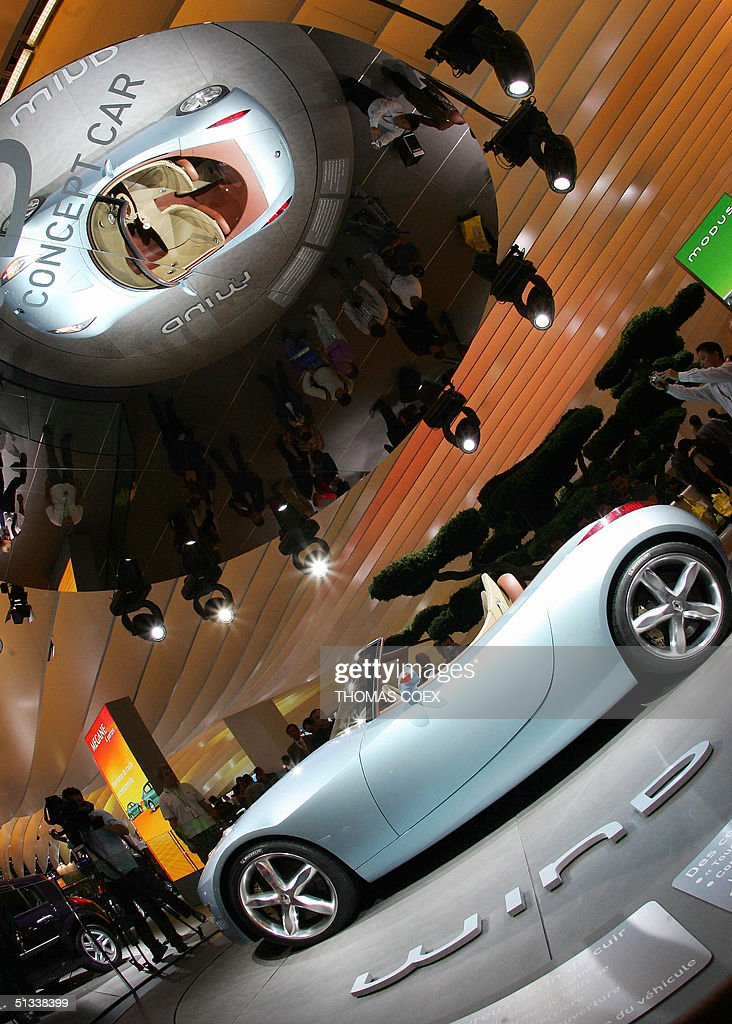 The New Renault Concept Car Wind Is Se Pictures Getty Images