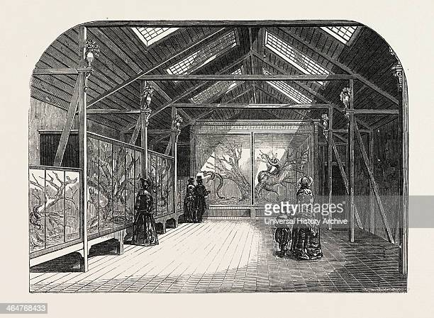 The New Reptile House In The Gardens Of The Zoological Society Regent's Park London UK 1849