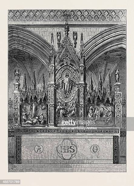The New Reredos In Exeter Cathedral 1874
