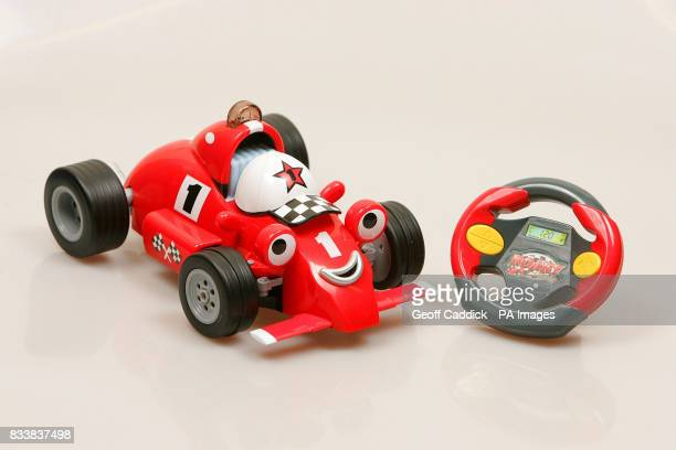 The new Roary remote control car one of the Dream Dozen Toys 2007 unveiled by the Toy Retailers Association at Mary's Church central London
