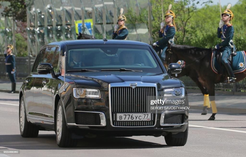 RUSSIA-POLITICS-PUTIN-INAUGURATION : News Photo
