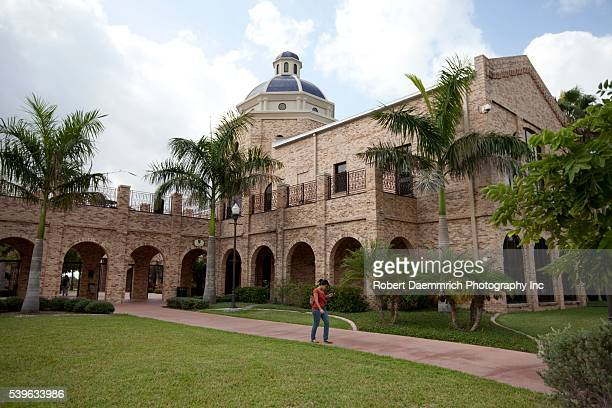 The new School of Education and Business School at the University of Texas-Brownsville campus.