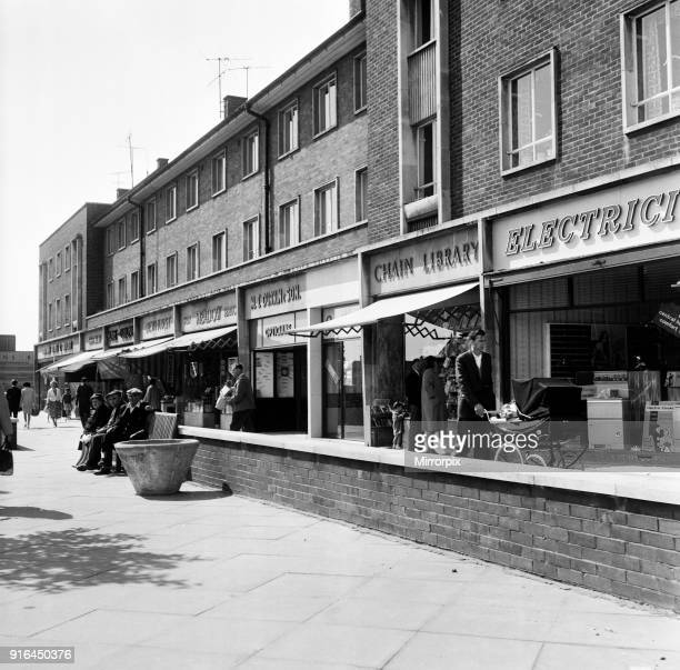 The new shopping centre in Billingham, County Durham, 31st August 1962.