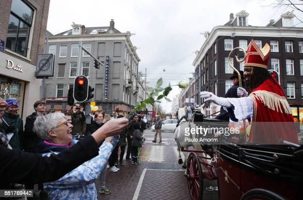 The New Sinterklaas Arrival in Amsterdam