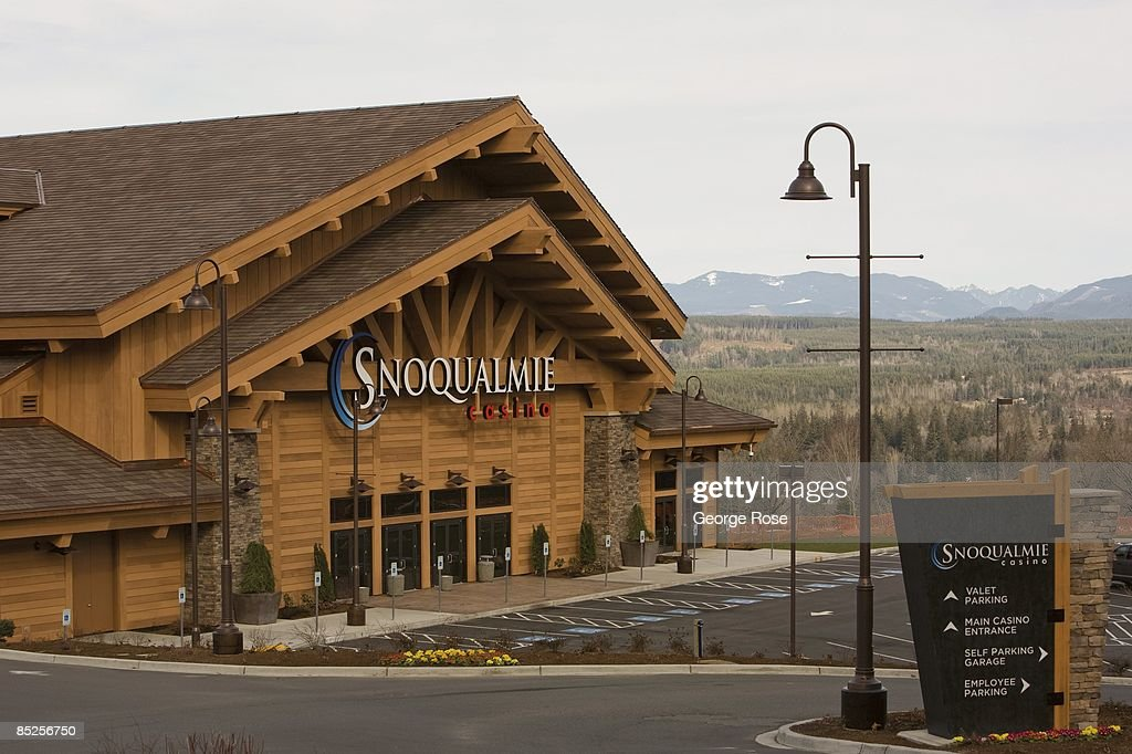 The new Snoqualmie Casino is seen in this 2009 Snoqualmie