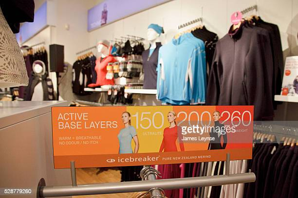 The new SoHo store for the New Zealand chain Icebreaker Icebreaker is a privatelyheld outdoor and sport clothing designer and manufacturer...