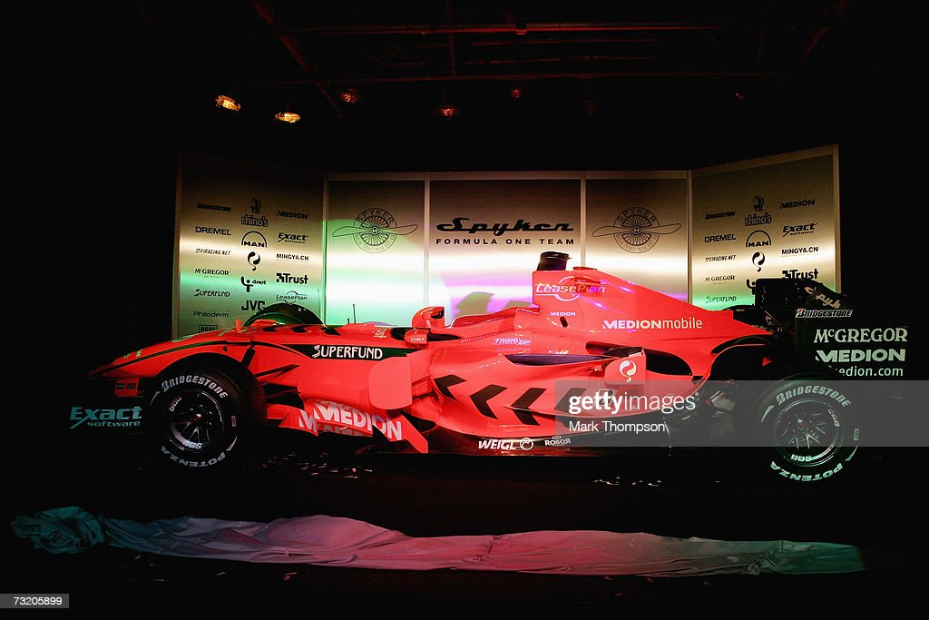 Spyker 2007 F1 Launch : News Photo