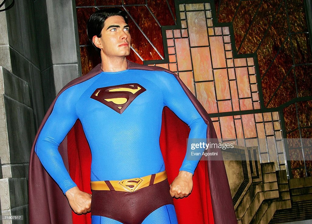Brandon Routh Unveils Superman Wax Figure At Madame Tussauds : News Photo
