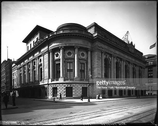 The New Theatre, later called the Century Theatre, Central Park West and 62nd Street, Carrere & Hastings, architects,New York, New York, late 1900s.