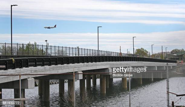 The new truck road from Conley Terminal to the Summer Street Bridge over the Reserved Channel in South Boston is pictured on May 10 2017 Massport is...