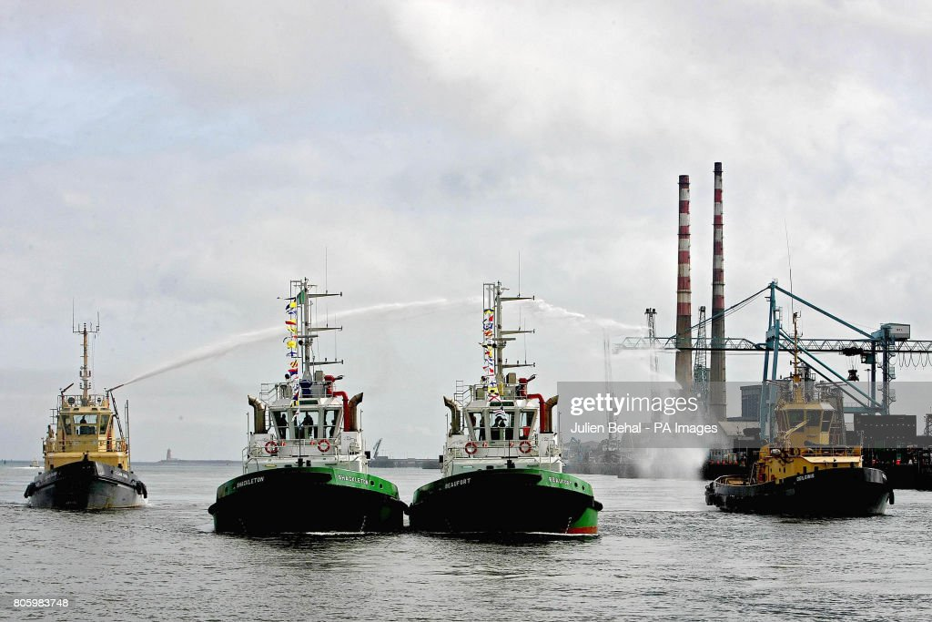 The new tugboats for Dublin Port Company, the 'Shackelton