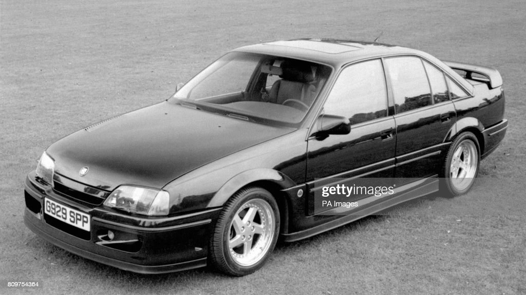 The New Vauxhall Lotus Carlton, Based On A Vauxhall Carlton Saloon And  Upgraded By Lotus