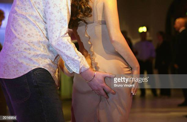 The new wax figure of Jennifer Lopez is unveiled on May 21 2003 at Madame Tussauds London The waxwork is the first ever blushing figure