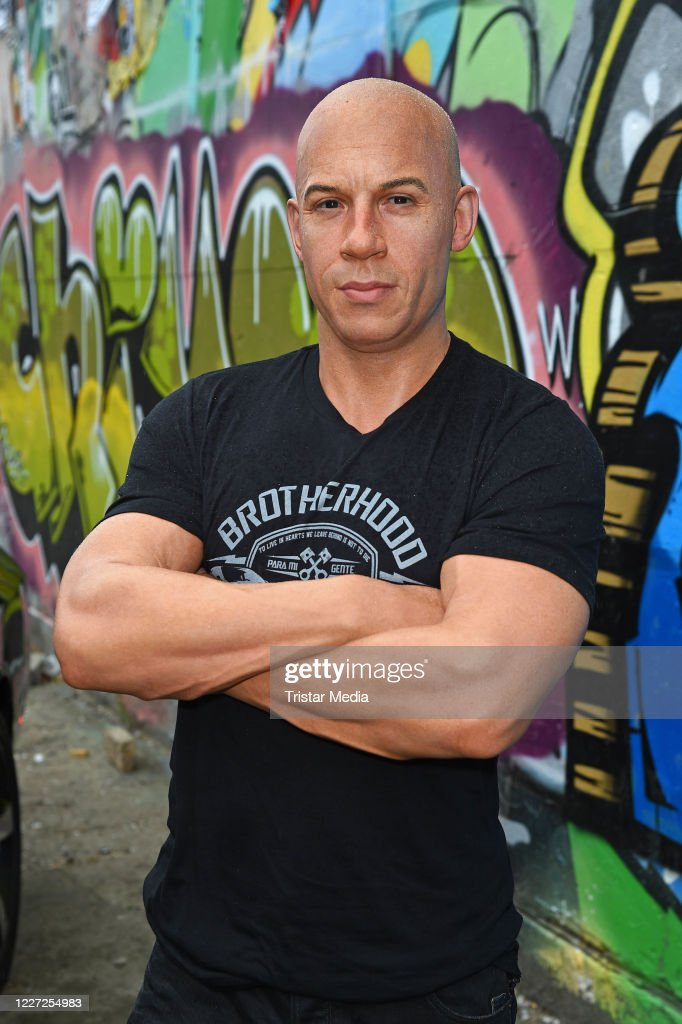 Vin Diesel Wax Figure Unveiled In Berlin : News Photo