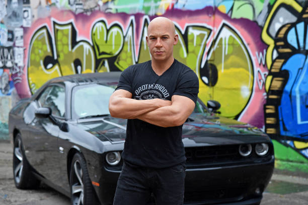 DEU: Vin Diesel Wax Figure Unveiled In Berlin