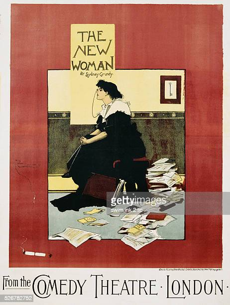 The New Woman Poster by Albert Morrow
