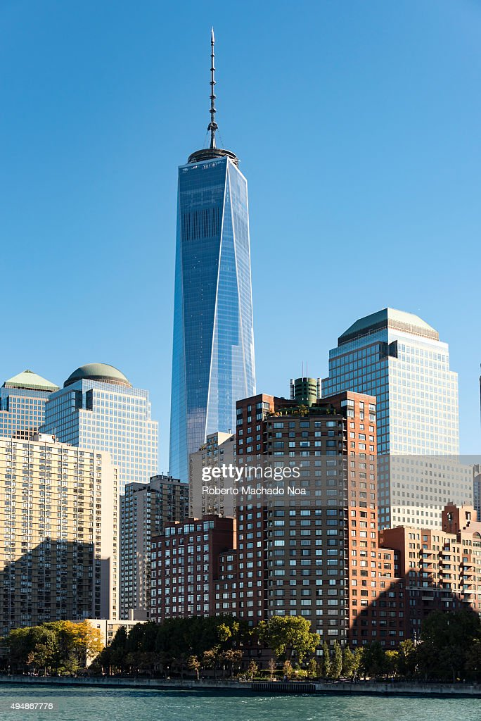 The New World Trade Center In The New York City Skyline