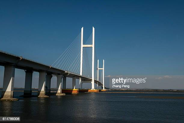 The new Yalu River bridge located at the downstream of SinoKorea Friendship Bridge has been completed in Dandong's part in 2014 However it is not in...