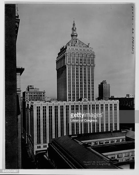 The New York Central Building later known as the Helmsley Building served as the headquarters for the railroad New York New York USA