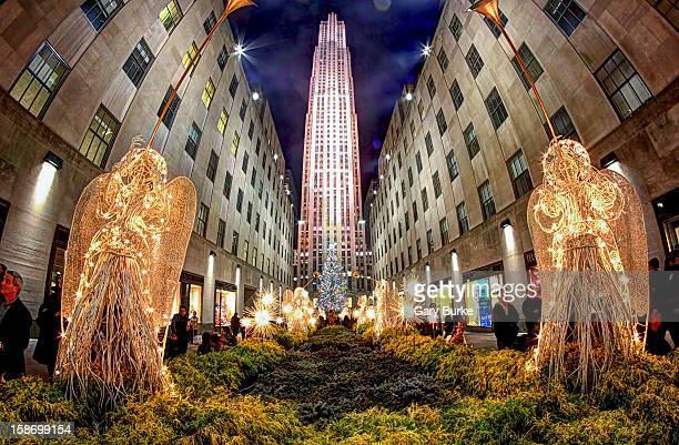 The New York City Christmas Tree as seen from Fifth Avenue. I usually visit here a few times each season. It really puts me in the Holiday spirit! I...