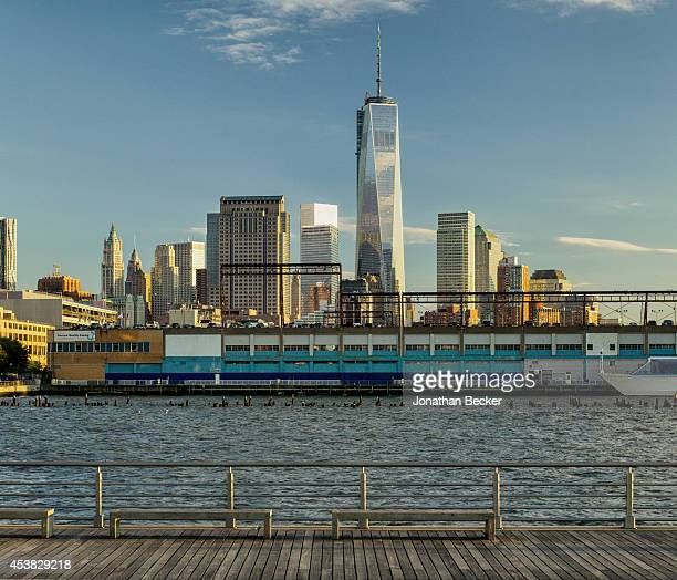 The New York City skyline is photographed for Vanity Fair Spain on July 11 2013 in New York City PUBLISHED IMAGE