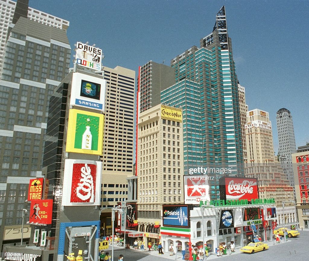 The New York City Skyline Is Replicated In Miniature From