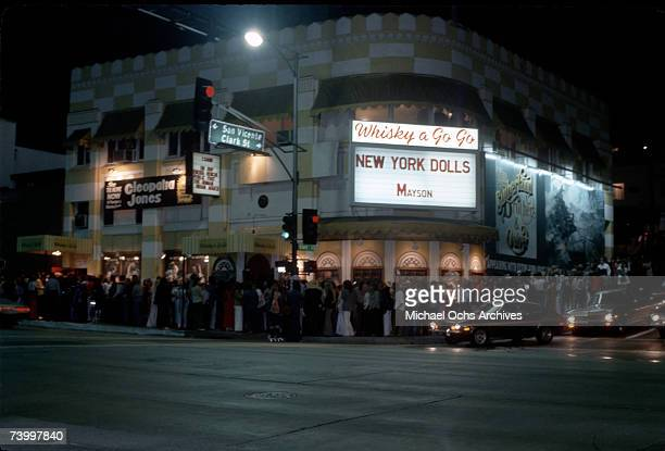 UNSPECIFIED The New York Dolls perform at the Whisky a Go Go in West Hollywood California circa 1960