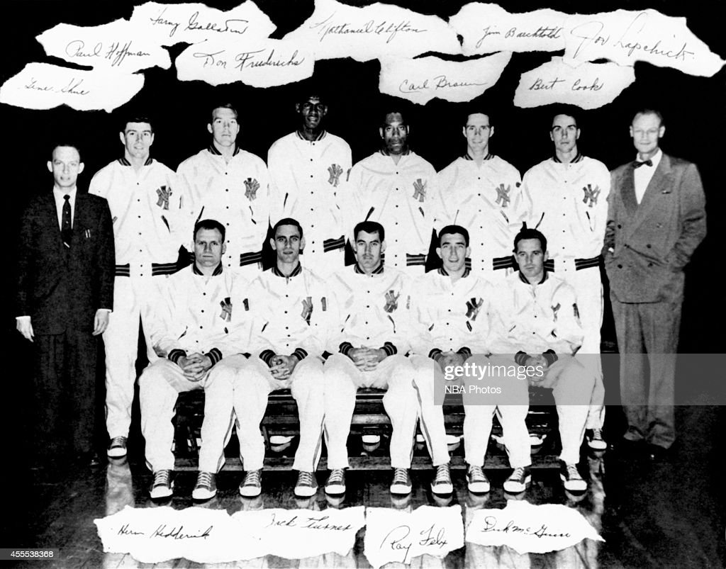 paul g hoffman photos pictures of paul g hoffman getty images 1953 Studebaker 4Dr Sdn the new york knickerbockers pose for a team portrait shot in 1954 in new york