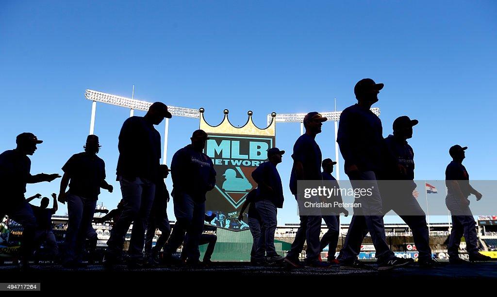 World Series - New York Mets v Kansas City Royals - Game Two : News Photo