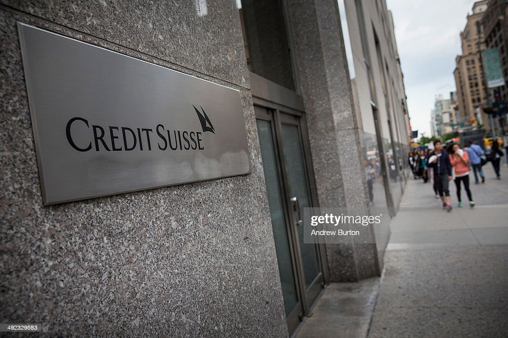 Credit Suisse Charged With Helping US Clis : News Photo