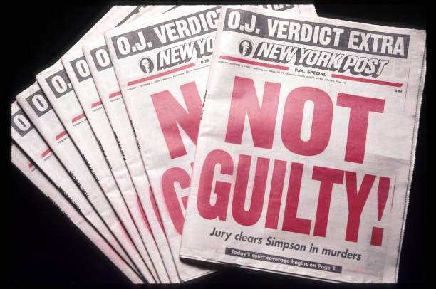 CA: 3rd October 1995: OJ Simpson Found Not Guilty Of Double Murder