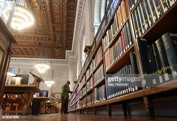 The New York Public Library'u2019s historic Rose Main Reading Room after reopening to the public following a 2 year restoration project on October 5...
