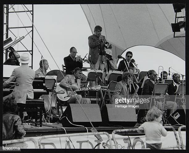 The New York Repertory Company playing at the Capital Radio Jazz Festival Alexandra Palace London 17 July 1979 Dick Hyman Bucky Pizzarelli George...