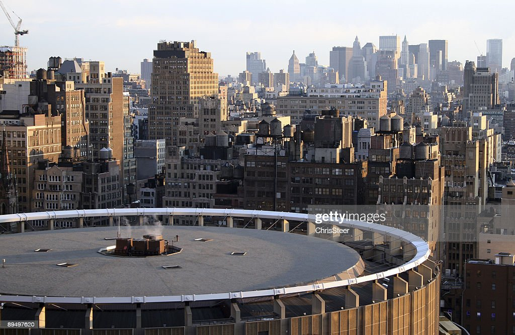 The New York skyline in the afternoon : Stock Photo